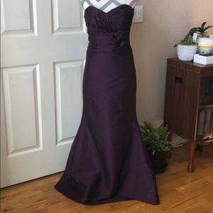 Alvina Valenta taffeta  bridesmaid evening gown